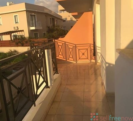 For sale a new, large 2-bedroom apartment in Geroskipou, Paphos.