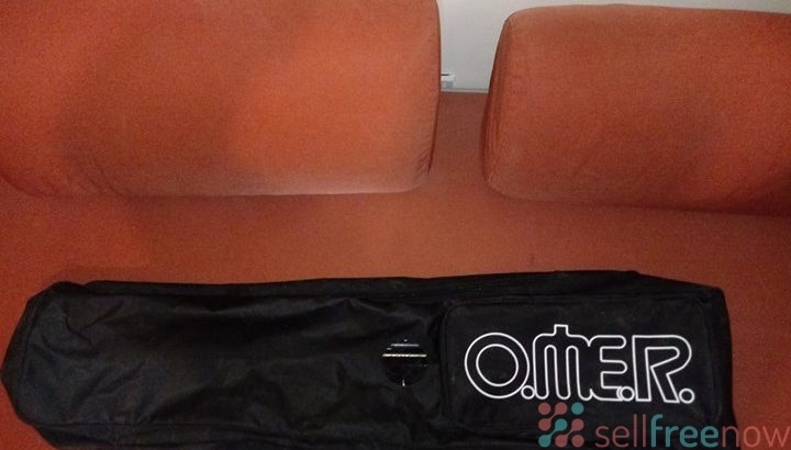 OMER double pvc bag black