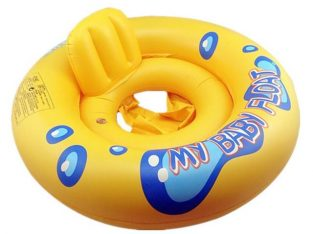 Inflatable swimming circle
