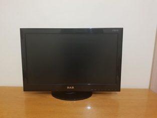 """SABA LCD PC MONITOR AND TV 24"""""""