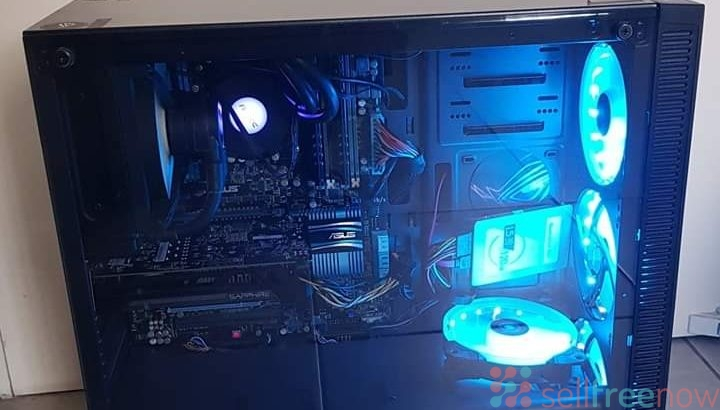 Asus Gamers Pc i7