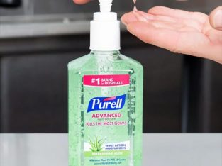 Dettol Instant and Purell Advanced Hand Sanitizer
