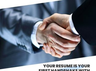 Your resume is your first impression (Discount Cod