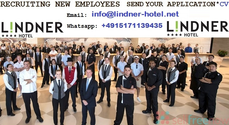 New employees needed abroad