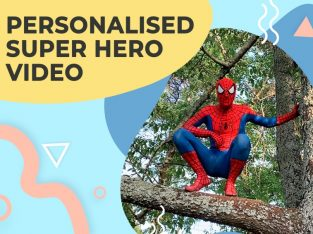 Personalized surprise video from Spider Hero!