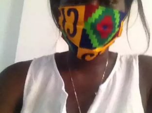 SIA SASSA FASHION FACE MASKS (AFRICAN design 5 No)