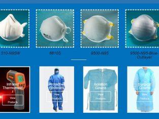 Global Wholesale Supplier of N95 Face Masks, PPEs