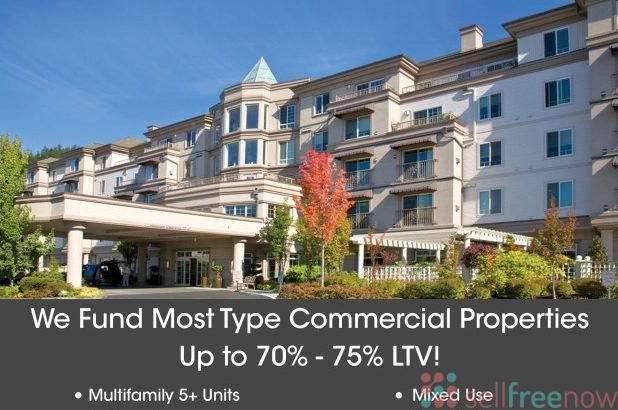 Commercial Property Financing – All Types – $1Mil