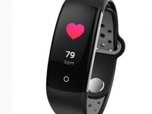 Q6 Bluetooth Fitness Tracker Black