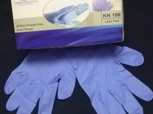Nitrile gloves powder free and PPE products