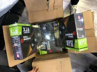 WTS RTX 3080/3090/2080 Ti,1080Ti,1070RX5700XT
