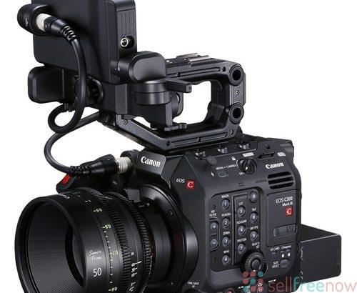 Canon EOS C300 Mark III Digital Cinema Camera Body