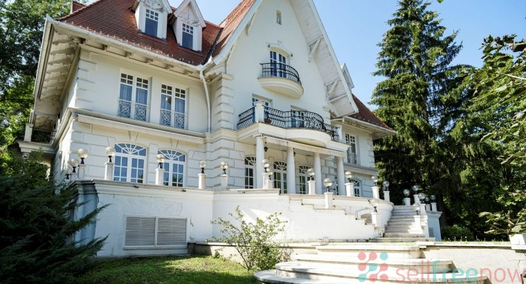 A wonderful villa in the best part of Budapest