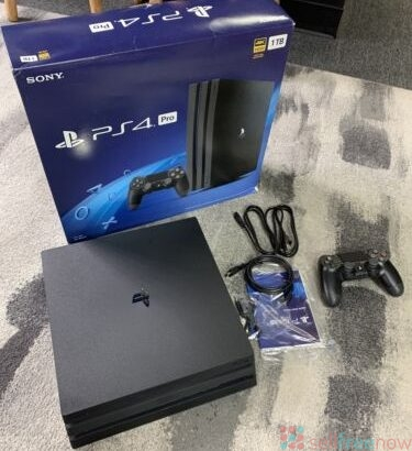 Sony PlayStation 4 PS4 Pro 1TB Game Console