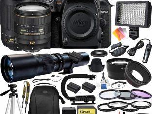 Nikon D7500 DSLR Camera – 1581 With Nikkor AF-S DX